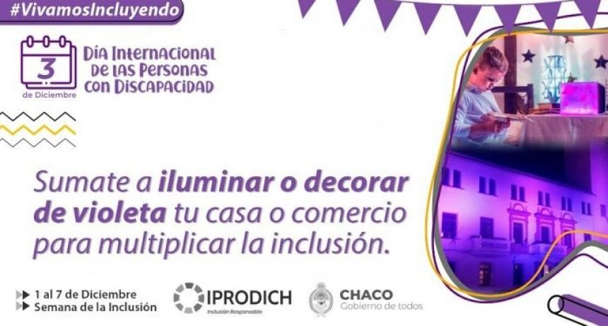 IPRODICH convoca a sumarse a las actividades por el Día Internacional de las Personas con Discapacidad